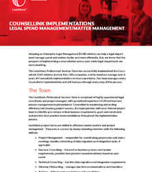 CounselLink Implementations