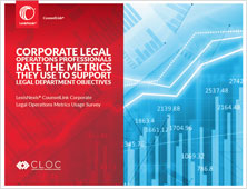 Corporate Legal Operations Professionals 2016 Report