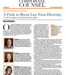 A Push to Boost Law Firm Diversity