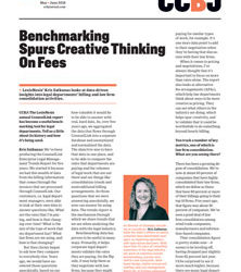 Benchmarking Spurs Creative Thinking On Fees