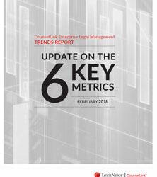 2018 CounselLink Enterprise Legal Management Trends Report